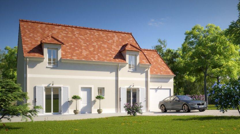 Maisons du constructeur MAISONS PIERRE • 103 m² • BONDY
