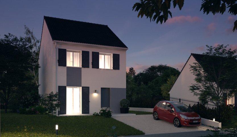 Maisons du constructeur MAISONS PIERRE • 80 m² • VILLEPINTE