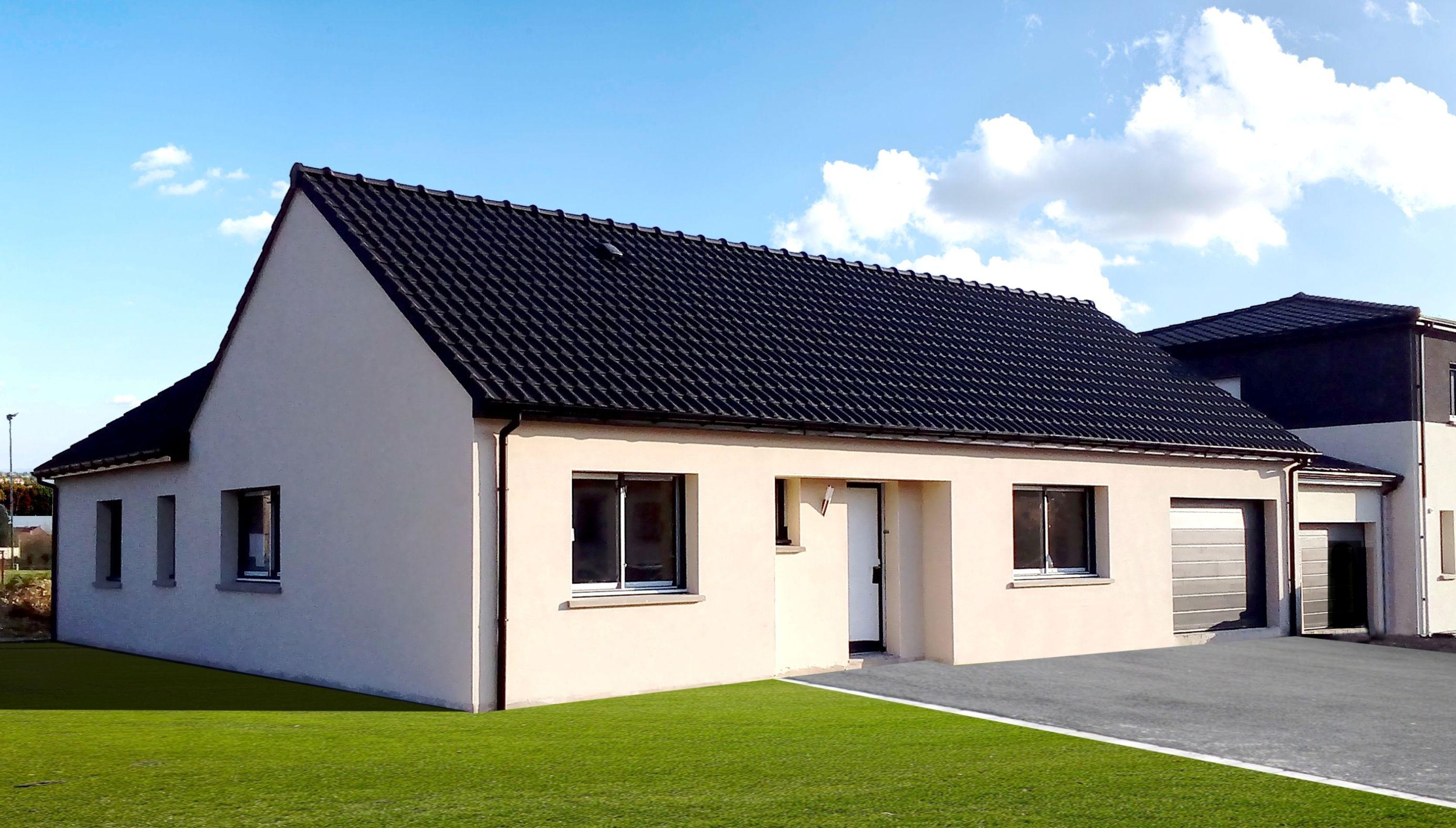 Maisons + Terrains du constructeur MAISON FAMILIALE MANTES • 130 m² • CONFLANS SAINTE HONORINE