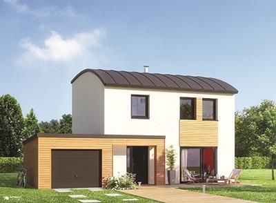 Maisons + Terrains du constructeur MAISON FAMILIALE MANTES • 92 m² • POISSY