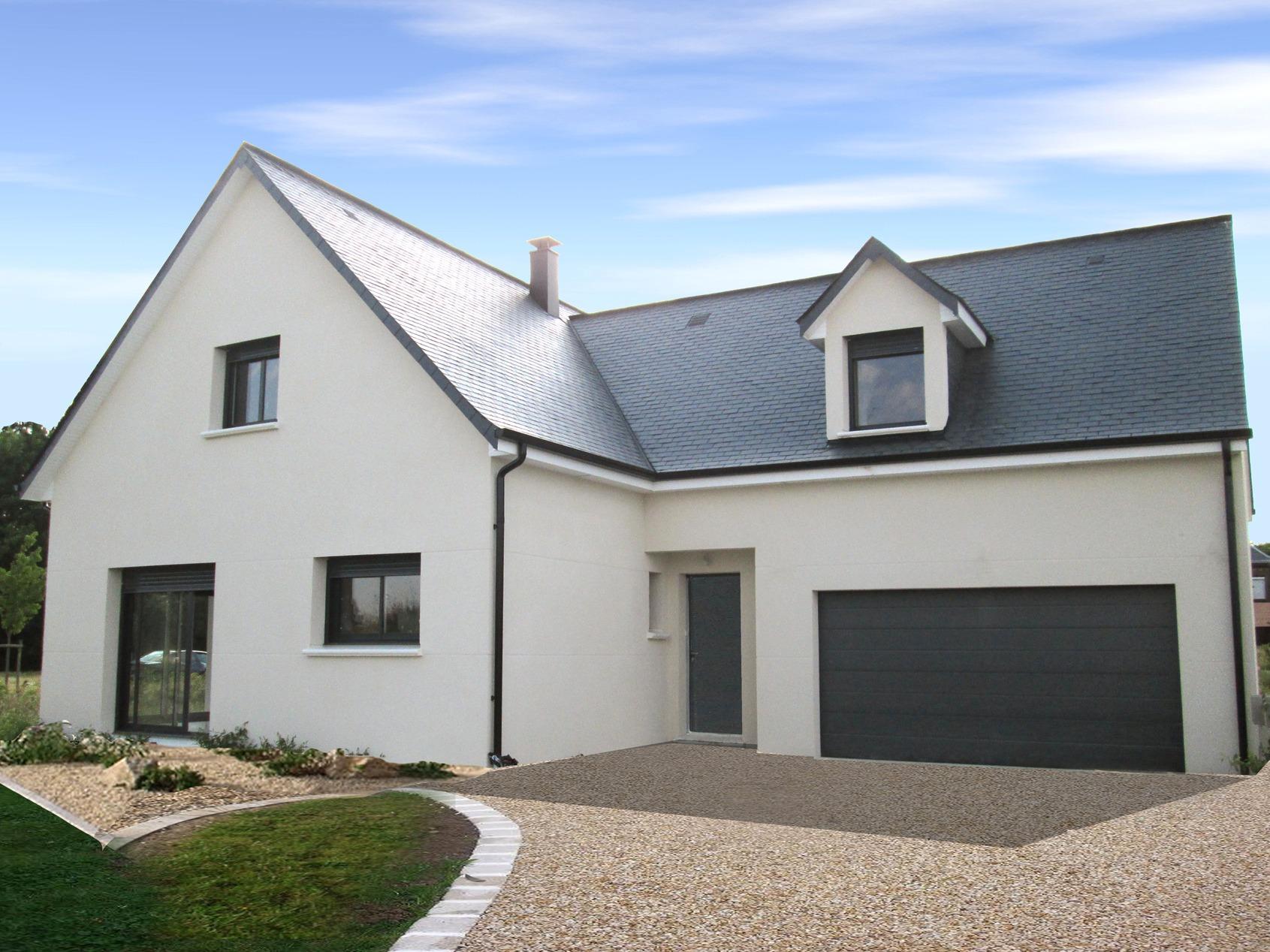 Maisons + Terrains du constructeur MAISON FAMILIALE MANTES • 130 m² • GARGENVILLE