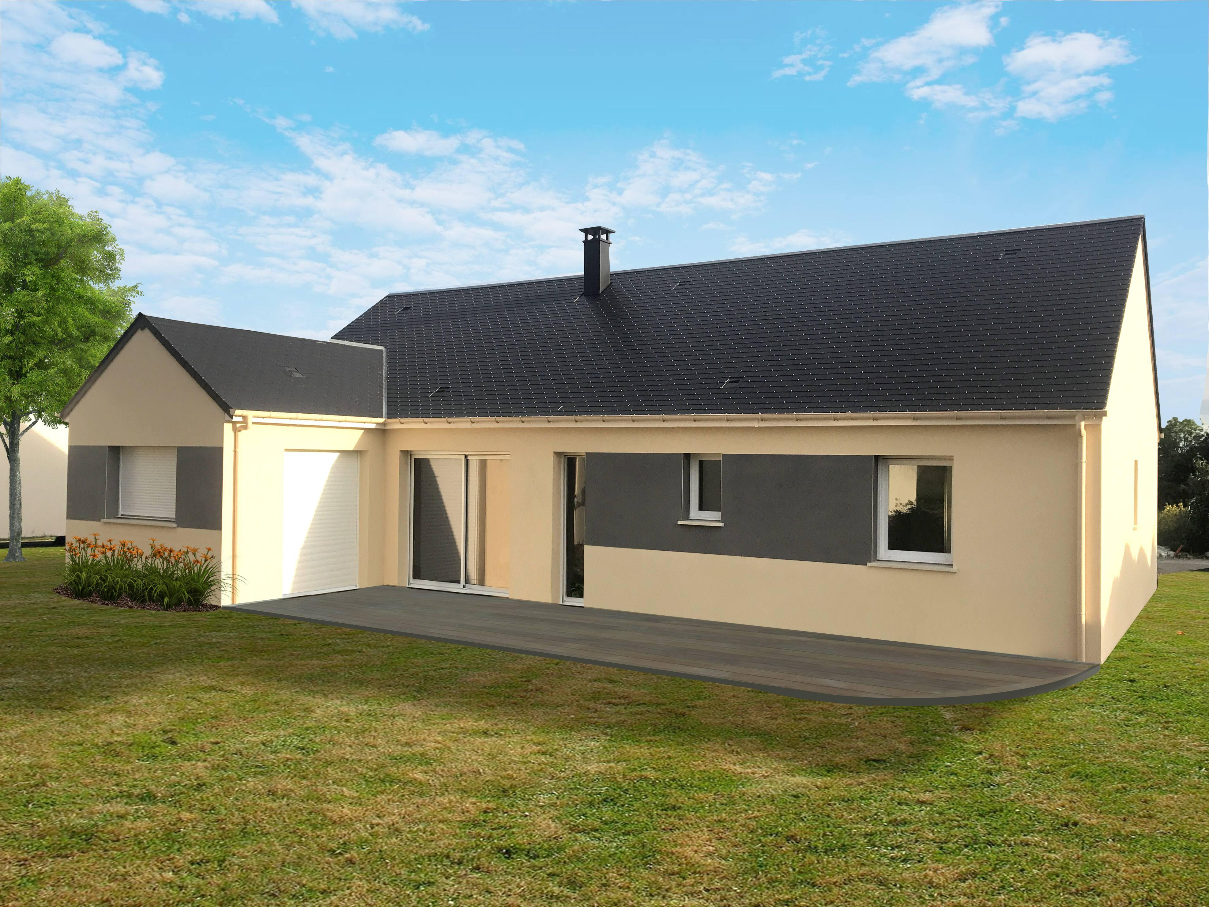 Maisons + Terrains du constructeur MAISON FAMILIALE MANTES • 122 m² • MAULE
