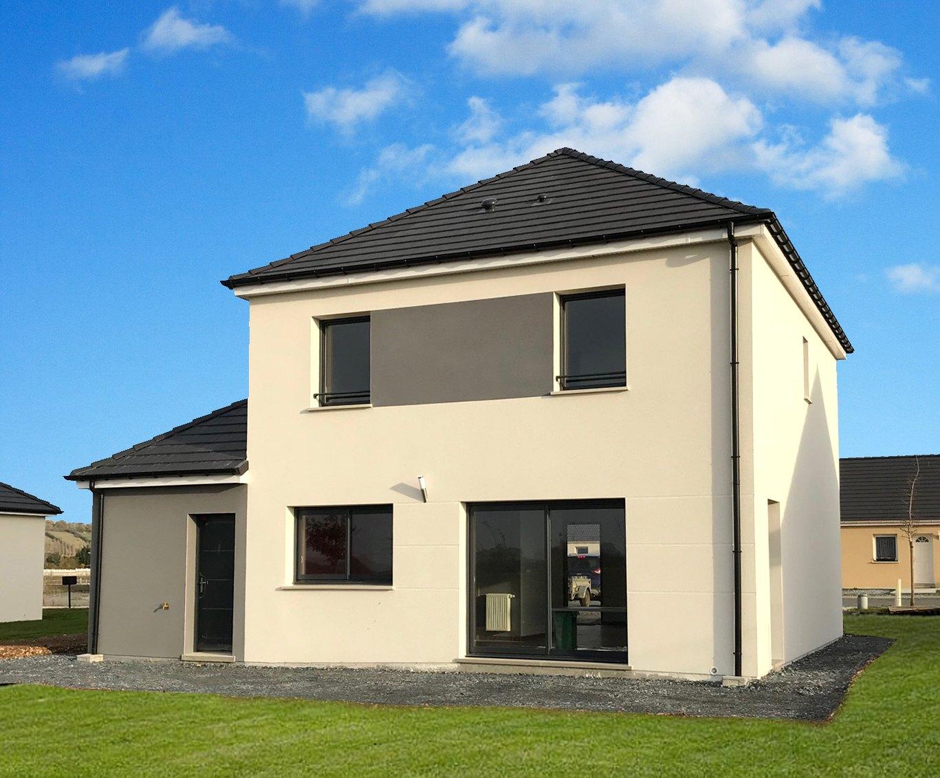 Maisons + Terrains du constructeur MAISON FAMILIALE MANTES • 110 m² • BREVAL