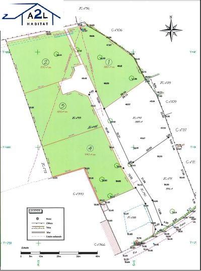 Terrains du constructeur A2L HABITAT • 800 m² • POTIGNY