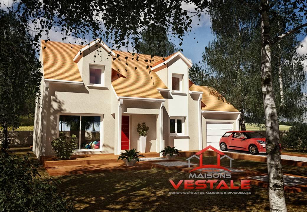Maisons du constructeur MAISONS VESTALE IDF • 130 m² • HERICY