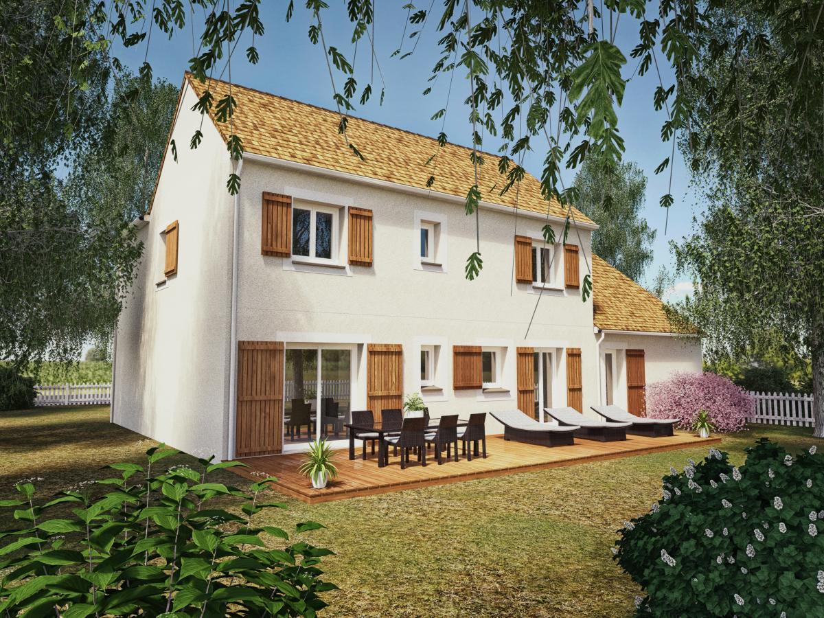Maisons du constructeur MAISONS VESTALE IDF • 120 m² • VERNOU LA CELLE SUR SEINE