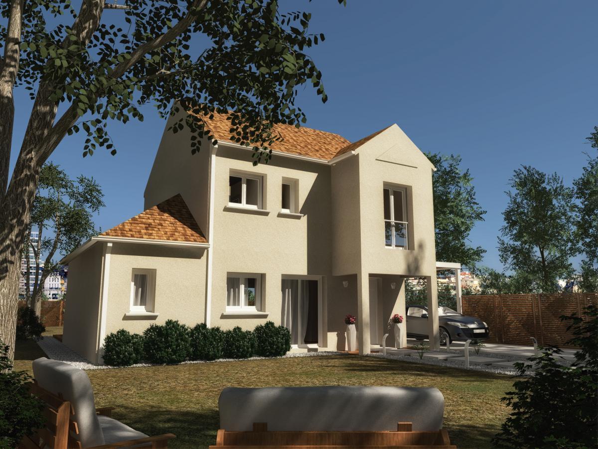 Maisons du constructeur MAISONS VESTALE IDF • 90 m² • VAUX LE PENIL