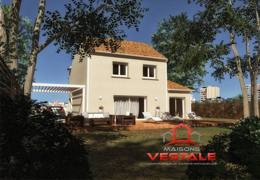 Maisons du constructeur MAISONS VESTALE IDF • 110 m² • VULAINES SUR SEINE