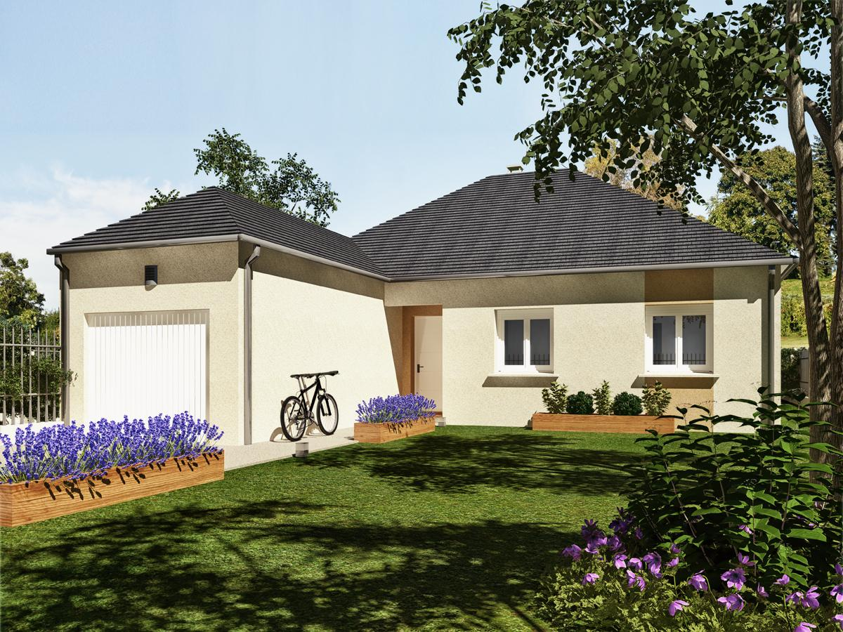 Maisons du constructeur MAISONS VESTALE IDF • 91 m² • NOISY RUDIGNON