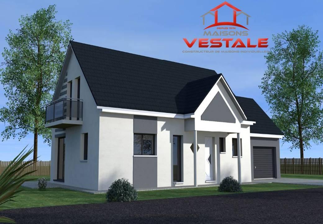 Maisons du constructeur MAISONS VESTALE IDF • 130 m² • DAMMARTIN SUR TIGEAUX