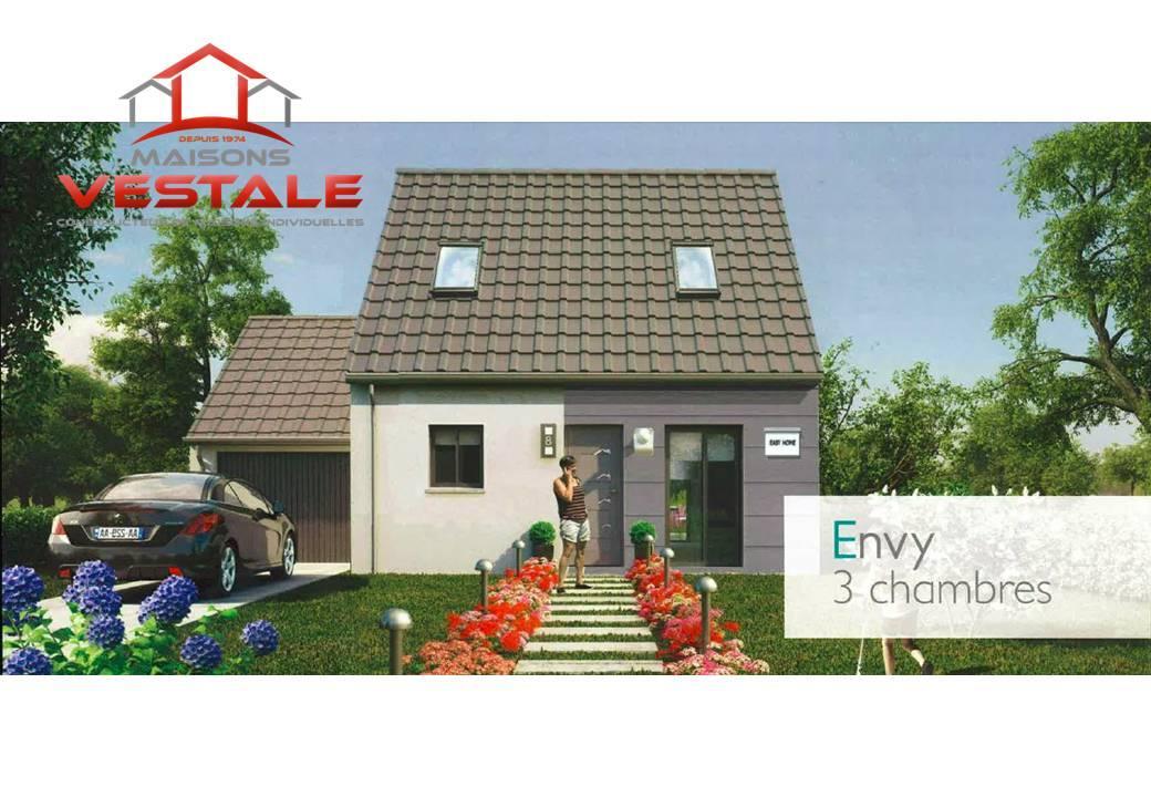 Maisons du constructeur MAISONS VESTALE IDF • 90 m² • PREFONTAINES