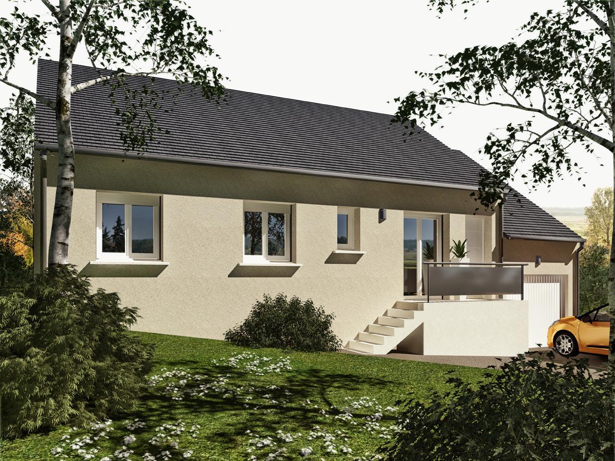Maisons du constructeur MAISONS VESTALE IDF • 91 m² • NANTEAU SUR LUNAIN