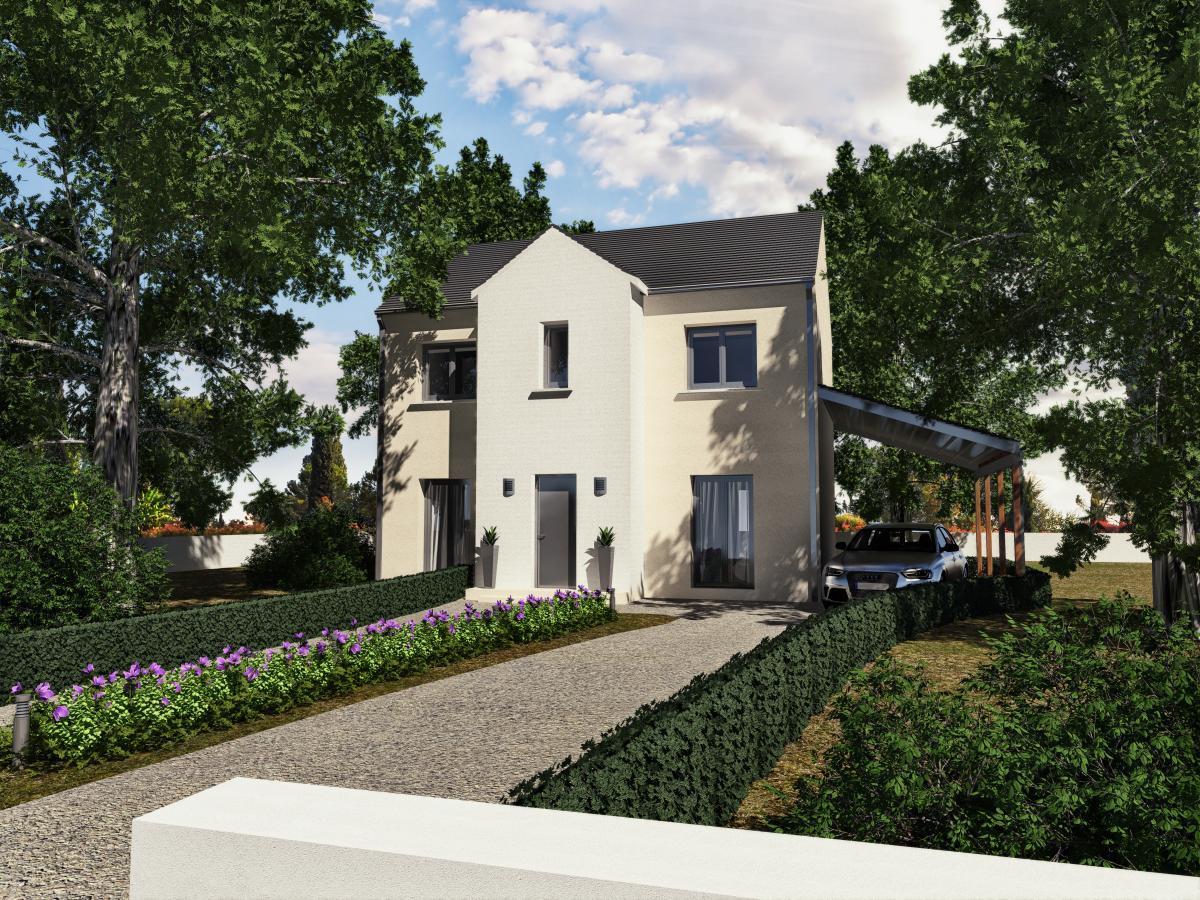 Maisons du constructeur MAISONS VESTALE IDF • 101 m² • LA GRANDE PAROISSE
