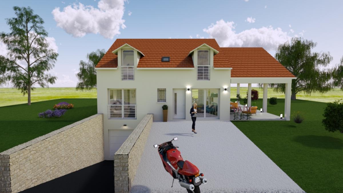 Maisons du constructeur MAISONS VESTALE IDF • 130 m² • MOUROUX