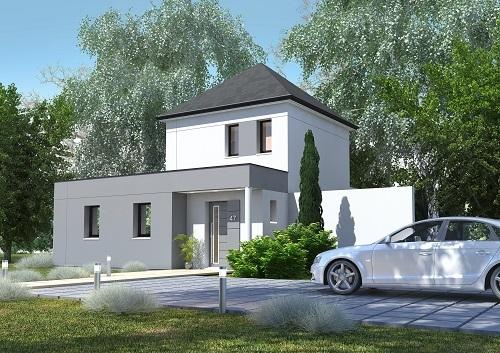 Maisons + Terrains du constructeur LES MAISONS.COM MAREUIL LES MEAUX • 94 m² • MEAUX
