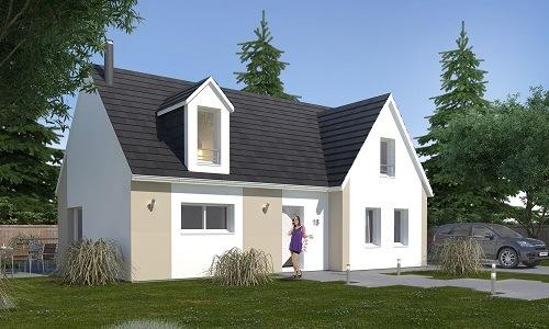 Maisons + Terrains du constructeur LES MAISONS.COM MAREUIL LES MEAUX • 109 m² • CRECY LA CHAPELLE
