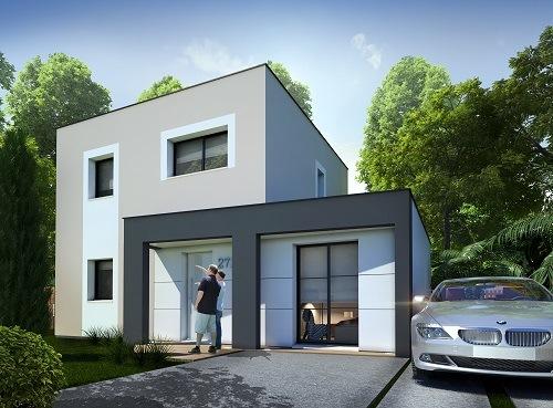 Maisons + Terrains du constructeur LES MAISONS.COM MAREUIL LES MEAUX • 91 m² • ANNET SUR MARNE