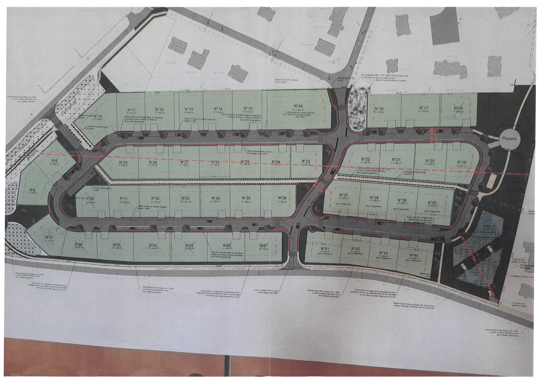 Terrains du constructeur RESIDENCES PICARDES GRANDVILLIERS • 555 m² • POIX DE PICARDIE