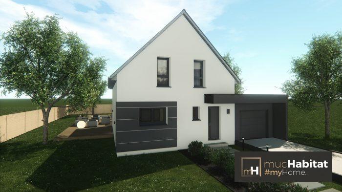 Maisons du constructeur MUC HABITAT • 90 m² • ERNOLSHEIM BRUCHE