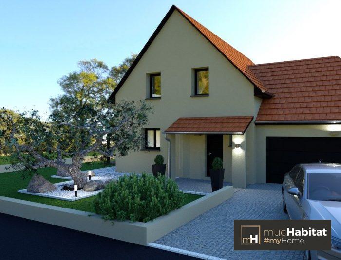 Maisons du constructeur MUC HABITAT • 100 m² • MATZENHEIM