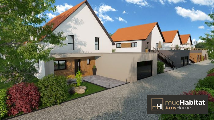 Maisons du constructeur MUC HABITAT • 70 m² • HAGUENAU