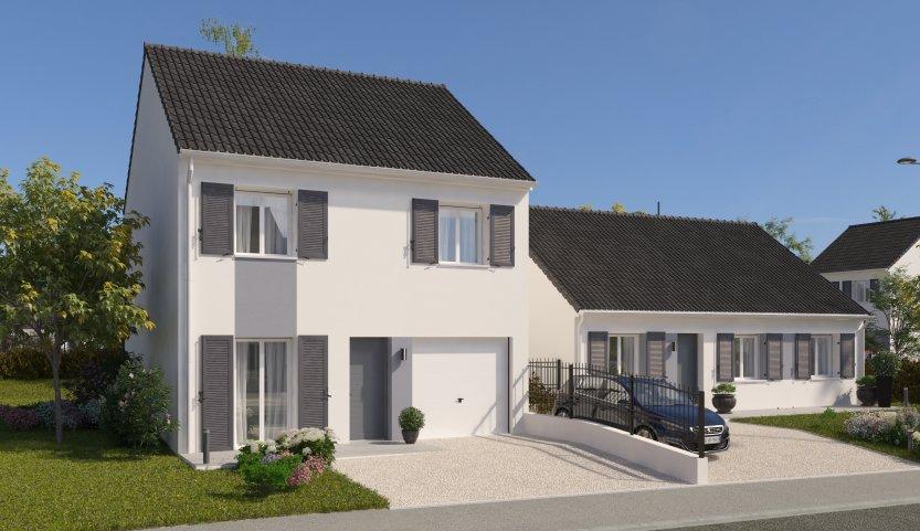 Maisons du constructeur MAISONS PIERRE AULNAY 3 • 87 m² • CHAUCONIN NEUFMONTIERS