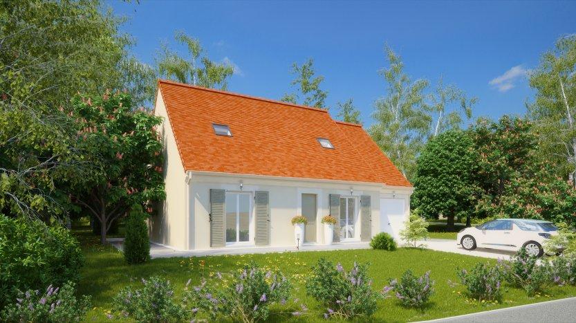 Maisons du constructeur MAISONS PIERRE AULNAY 3 • 101 m² • NOISY LE GRAND