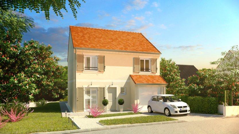 Maisons du constructeur MAISONS PIERRE AULNAY 3 • 104 m² • AULNAY SOUS BOIS