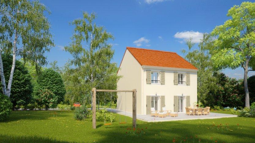 Maisons du constructeur HABITAT PAR CŒUR AULNAY 3 • 96 m² • COUBRON