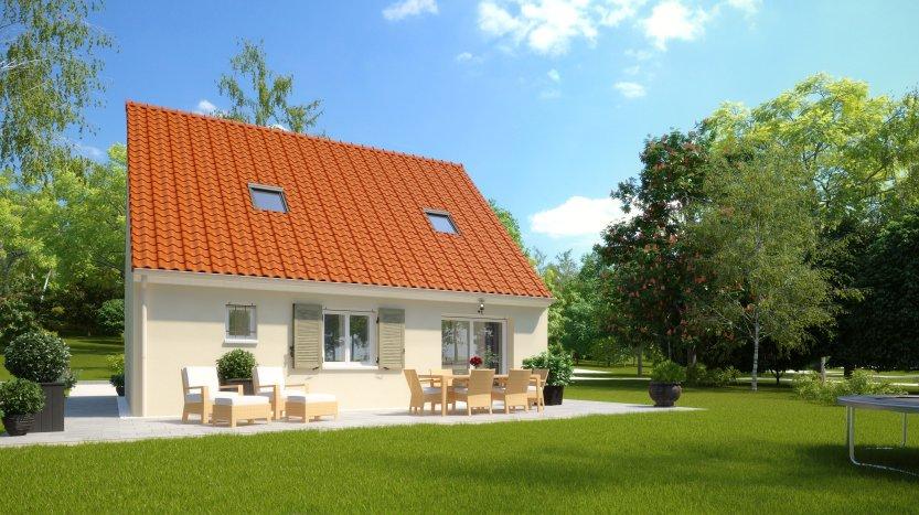 Maisons du constructeur HABITAT PAR CŒUR AULNAY 3 • 82 m² • COUBRON