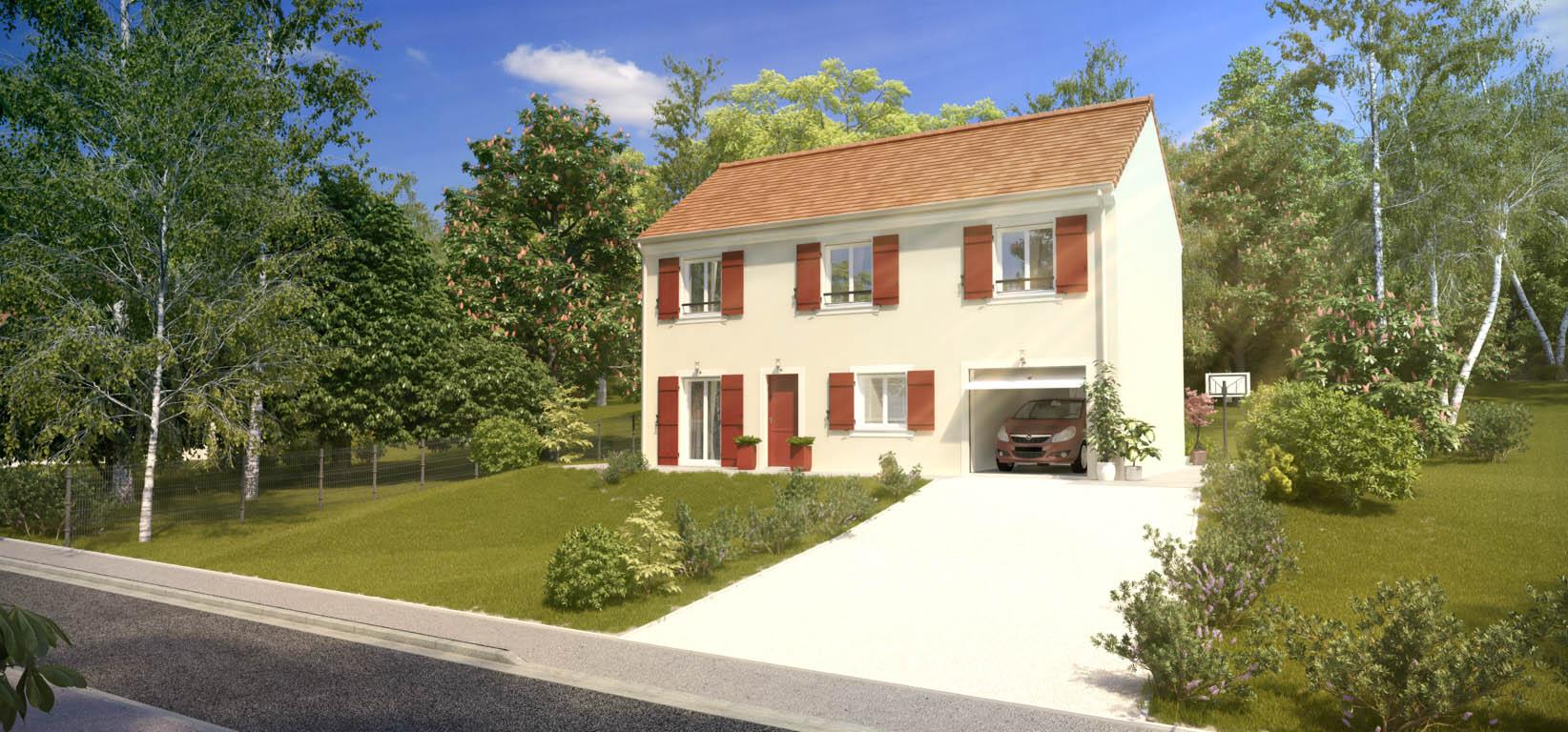 Maisons du constructeur HABITAT PAR CŒUR AULNAY 3 • 108 m² • LIVRY GARGAN
