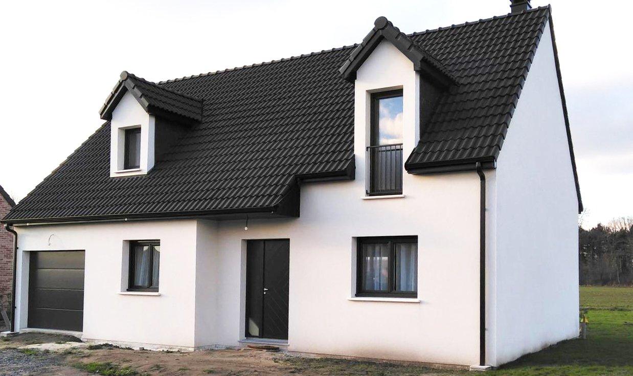 Maisons + Terrains du constructeur LES MAISONS.COM PONTAULT COMBAULT • 103 m² • LA HOUSSAYE EN BRIE