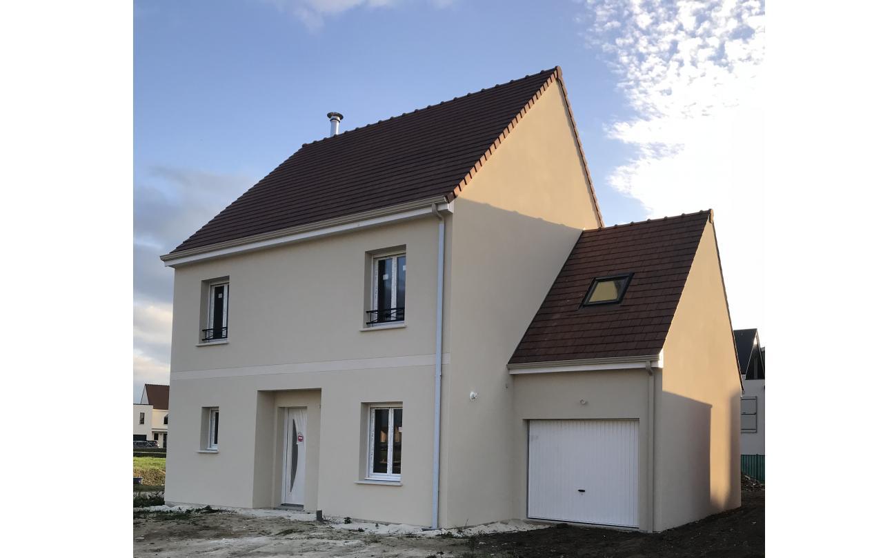 Maisons + Terrains du constructeur LES MAISONS.COM PONTAULT COMBAULT • 86 m² • COURPALAY