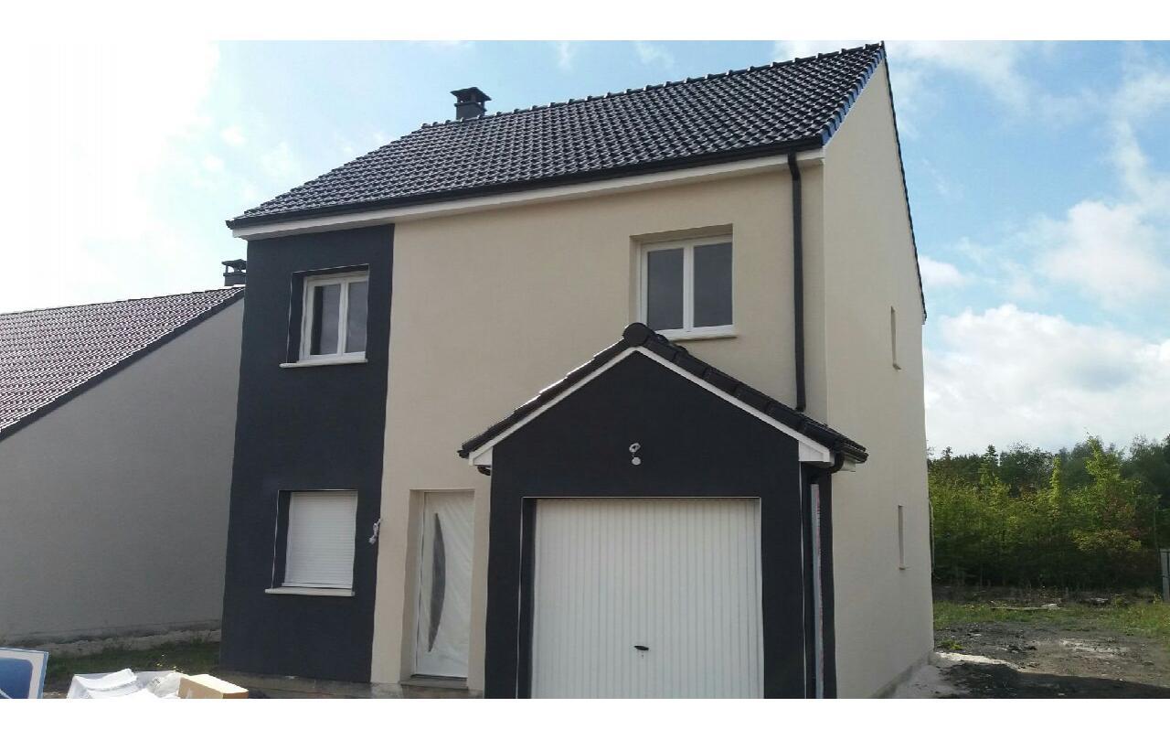 Maisons + Terrains du constructeur LES MAISONS.COM PONTAULT COMBAULT • 86 m² • NEUFMOUTIERS EN BRIE