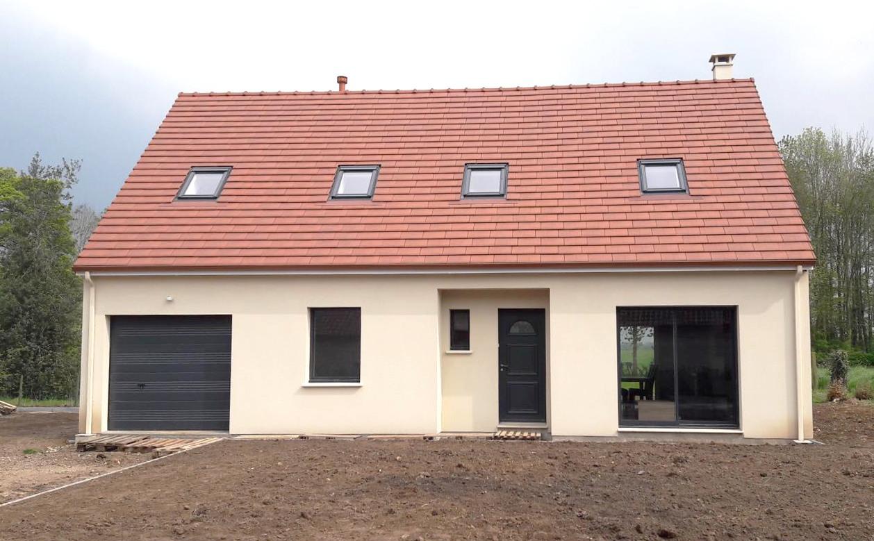 Maisons + Terrains du constructeur LES MAISONS.COM PONTAULT COMBAULT • 94 m² • COURPALAY
