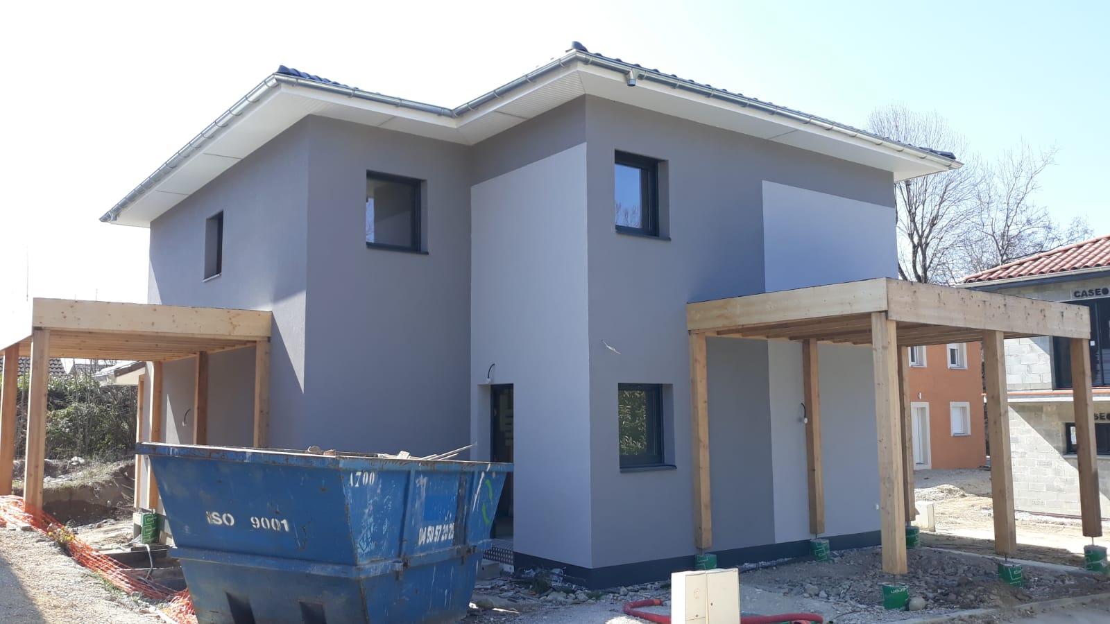 Maisons + Terrains du constructeur MAISONS LOGELIS • 95 m² • CHATEAUNEUF SUR ISERE