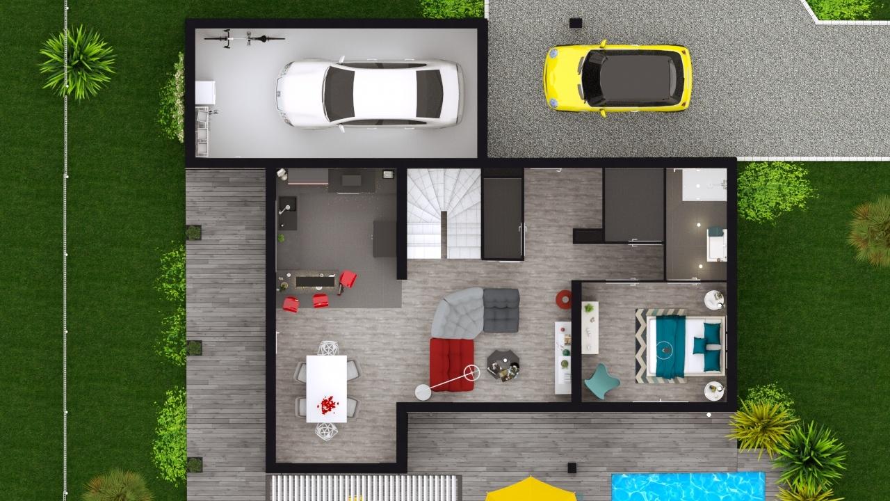 Maisons + Terrains du constructeur MAISONS LOGELIS • 101 m² • MONTELIMAR