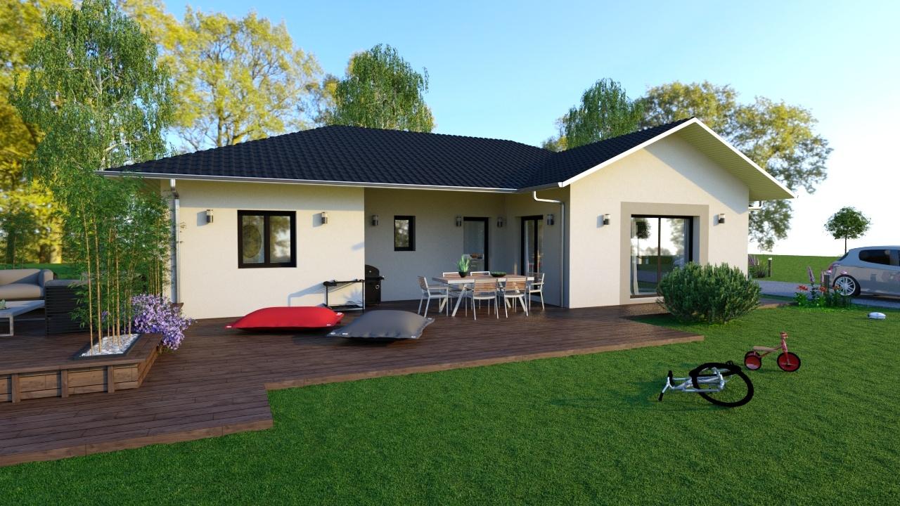 Maisons + Terrains du constructeur MAISONS LOGELIS • 103 m² • SUZE LA ROUSSE