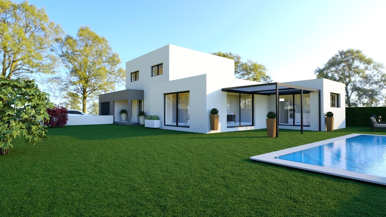 Maisons + Terrains du constructeur MAISONS LOGELIS • 142 m² • GENISSIEUX