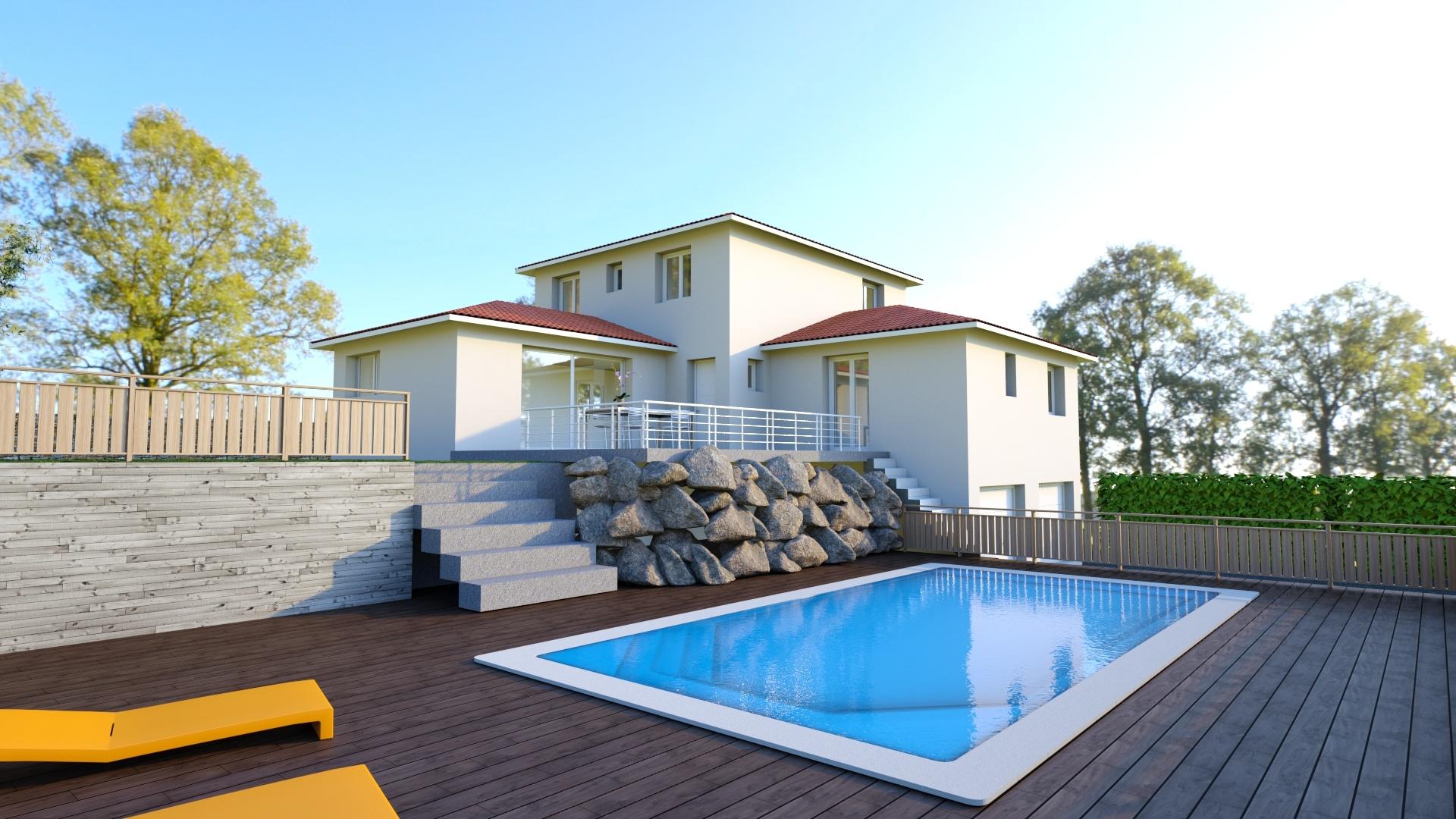 Maisons + Terrains du constructeur MAISONS LOGELIS • 138 m² • BOURG DE PEAGE