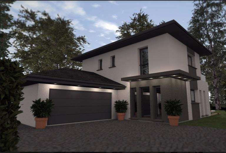 Maisons du constructeur TRADICONFORT BOURGOIN • 110 m² • SEREZIN DE LA TOUR