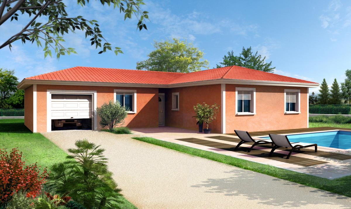 Maisons du constructeur TRADICONFORT BOURGOIN • 90 m² • CHATONNAY