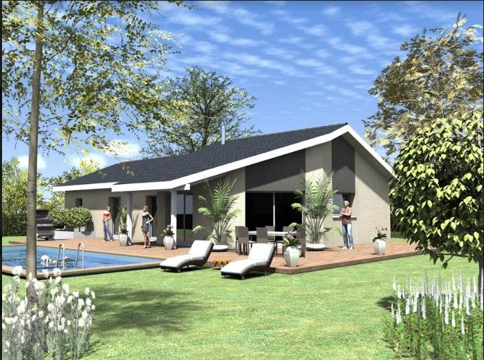 Maisons du constructeur TRADICONFORT BOURGOIN • 110 m² • LA BATIE MONTGASCON