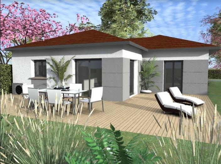 Maisons du constructeur TRADICONFORT BOURGOIN • 91 m² • SAINT ANDRE LE GAZ