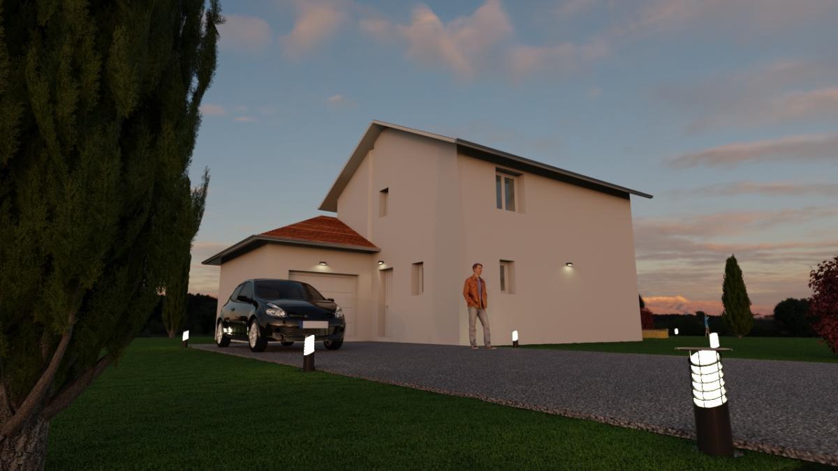 Maisons du constructeur TRADICONFORT BOURGOIN • 101 m² • LA VERPILLIERE