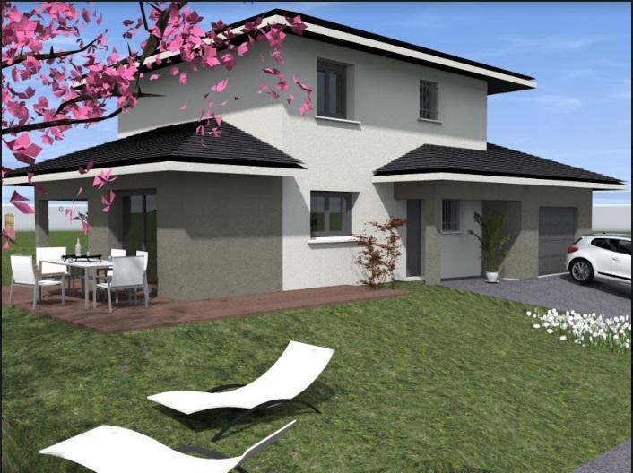 Maisons du constructeur TRADICONFORT BOURGOIN • 91 m² • SAINT MARCEL BEL ACCUEIL