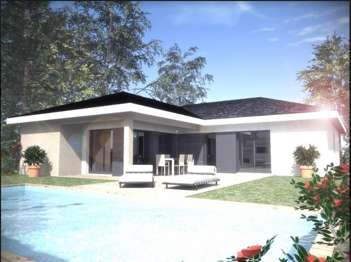 Maisons du constructeur TRADICONFORT BOURGOIN • 91 m² • HIERES SUR AMBY