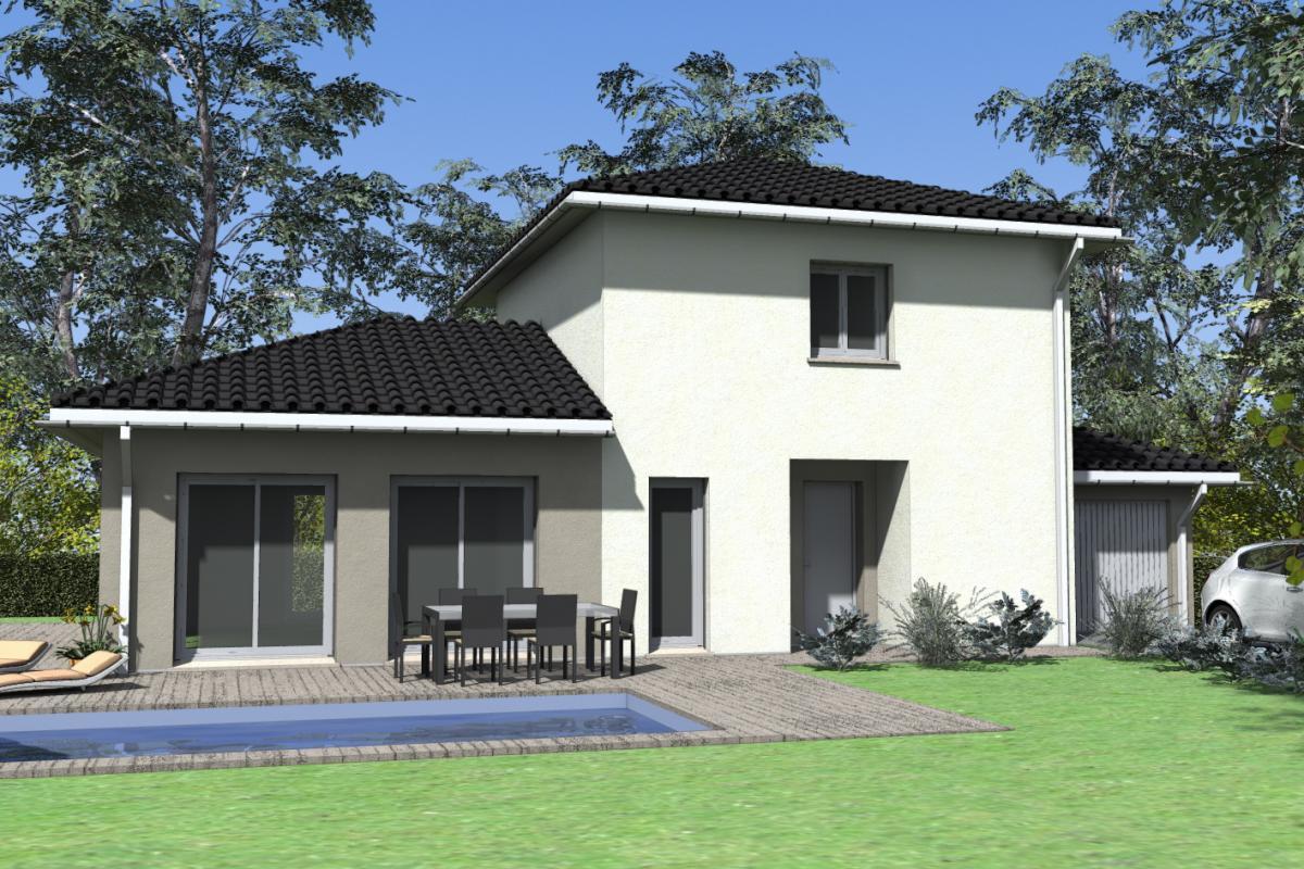 Maisons du constructeur TRADICONFORT BOURGOIN • 91 m² • FRONTONAS
