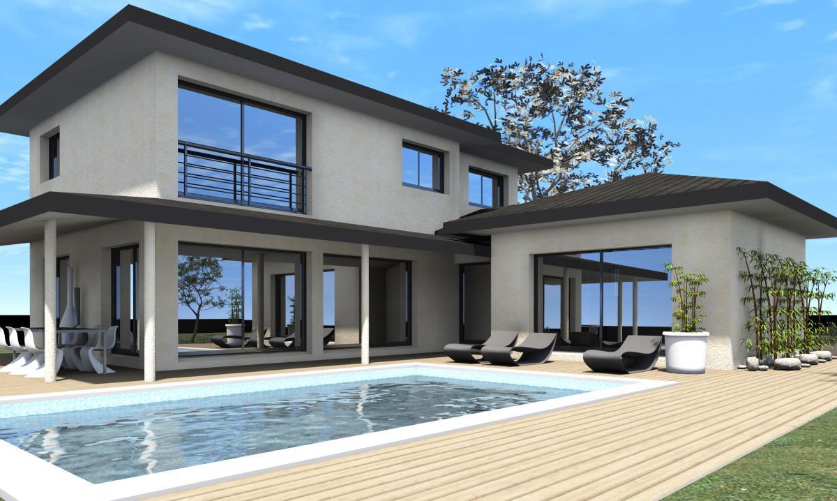 Maisons du constructeur TRADICONFORT BOURGOIN • 120 m² • MEYRIEU LES ETANGS
