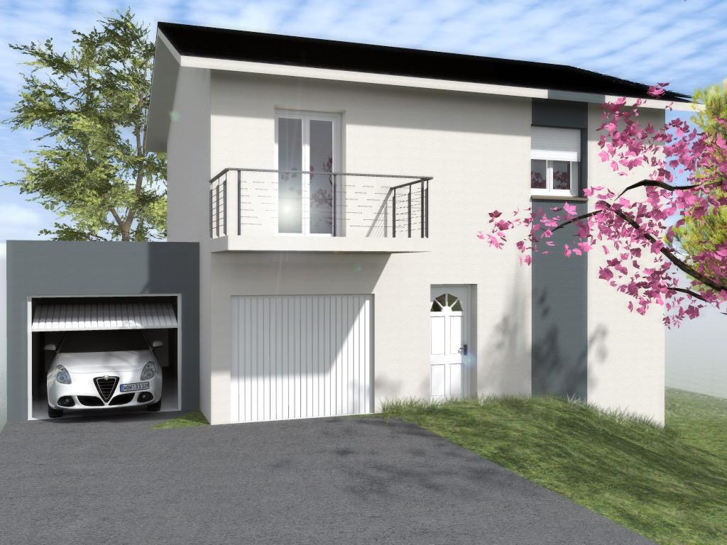 Maisons du constructeur TRADICONFORT BOURGOIN • 101 m² • MEYRIEU LES ETANGS